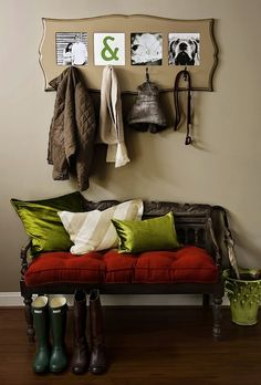 Coat Rack Frame from Organic Bloom – Coat Hanger Design Organic Bloom Frames, Coat Hanger, Hanger Rack, Coat Racks, Up House, Photo Displays, Home Living Room, Getting Organized, My Dream Home