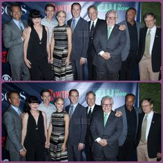 The NCIS gang. But Coté isn't there, so it can't be right.