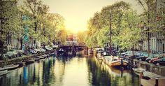 O que fazer em Amsterdã no verão #viajar #amsterdam #holanda