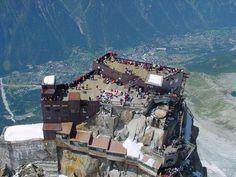 Plataforma de observacao Aiguille du Midi - Franca  http://top10mais.org/