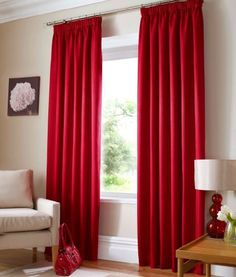 "Ready Made Curtains Fully Lined (Waffle) (Red, 90"" x 90"" (229cm xn229cm)) , http://www.amazon.co.uk/dp/B00BK435JS/ref=cm_sw_r_pi_dp_xjDtrb16GYPY0"
