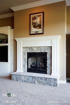 Concord - Fireplace | Natual Stone Veneers Inc. at Bricktec