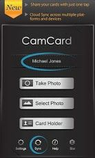 Business exchange capture dcran business card app pinterest camcard free business card r reheart Choice Image