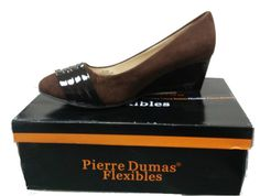 Pierre Dumas Anthony-11 Wedge Sandal, BROWN >>> Details can be found by clicking on the image.