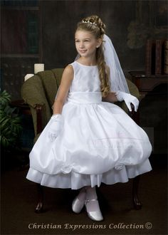 First Communion Dresses-LI-BL101