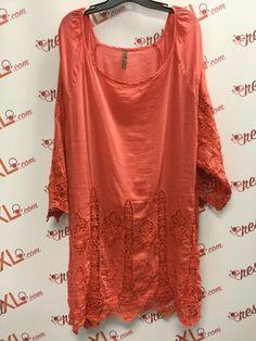 f485af0bf009a7 XCVI Boho Chic Pink Cotton Silk Tunic (3X)