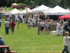 Vendors at 2011 Bluegrass Festival - Chantilly Farm