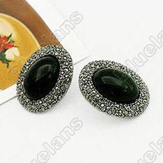 Discount China china wholesale Retro Personality Gemstone Earrings Unique Elegant Earring 6061 [6061] - US$0.99 : Bluelans