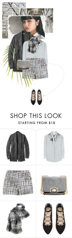 """""""643: Cold City Day (TurbulenceinDC)"""" by unicorn-plushie ❤ liked on Polyvore featuring L.L.Bean, Marc Jacobs, Boutique Moschino, Nina Ricci, Wilsons Leather and H&M"""
