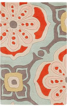 Alhambra ALH5007 Rug - 2'x3' - contemporary - Area Rugs - ModernRugs
