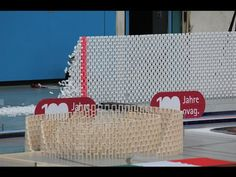 128,000 Dominoes - Falling into Past - A Journey around the World (2 Guinness World Records) - YouTube. #passion