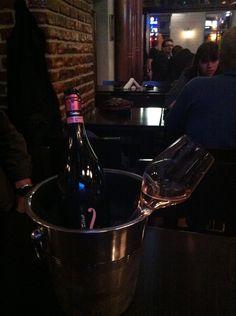 """Midnight enjoyment with """"Pink Feeling""""! Fantinel Rosé Brut in Skopje"""