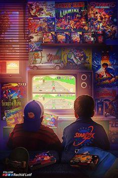Super Nintendo, Nintendo Mario Kart, Ps Wallpaper, Game Wallpaper Iphone, Nostalgic Pictures, Culture Pop, Retro Videos, Gaming Wallpapers, Video Game Art
