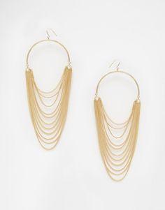 ALDO+Kalamela+Hoop+Earrings