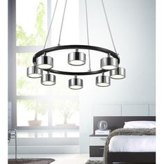 Found it at Wayfair - Trail 8 Light LED Chandelier