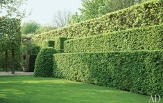 """Axel Vervoordt's Garden - Architectural Digest...From Mark D. Sikes' """"Green is Here""""...  http://www.markdsikes.com/2012/04/08/green-is-here/"""
