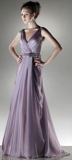 Sexy V-neck chiffon floor-length dress $129.80