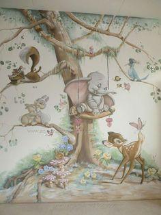 DIsney Wall Art #Bedroom #Nursery #disney #Nursery #bedroom