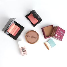 "Brides.com: Editors' Favorites: Beauty Products. BLUSH, BRONZER, AND HIGHLIGHTER. NARS Orgasm Blush, $26 ""It may not have a touchy-feely bridal name, but this color looks fantastic on a variety of skin colors and creates a really natural glow that photographs beautifully."" —Leigh, managing editor Benefit Hoola, $28 ""This bronzer is one of the few that I've found that's matte and doesn't make you look like you've done a face plant into the glitter section of a craft store."" —Abby, editorial…"