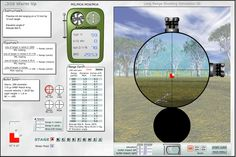 The Shooter Ready range simulator allows you to get lots of range estimation practice using your reticle without burning up any ammo.