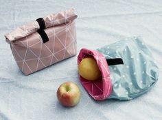Tutoriel DIY: Coudre une lunchbox en toile cirée via DaWanda.com