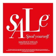 Christmas is over and that means one thing - SHOPPING! Forget your Christmas wish-list - Boxing Day is where wishes come true! Visit us in-store for deals you can't resist. Promotion valid from 26 December, 2017 to 22 January, 2018 or until sold out. #mazzucchellis #jeweller #jewellery #mazzucchellisjeweller #australianjewellery #boxingday #boxingdaysales #boxingdayshopping #spoilyourself #shopping #shopaholic #shoptilyoudrop #diamond #diamonds #diamondjewellery