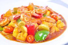 Thai Food Recipes: THAI SWEET AND SOUR SHRIMP