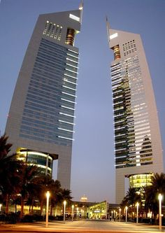 """Jumeirah Emirates Tower Hotel also known as """"Emirates Two Tower"""" is a 56 storey hotel in the city of Dubai, UAE. Dubai Hotel, Dubai Uae, Dubai Trip, Dubai City, Amazing Buildings, Amazing Architecture, Architecture Design, Best Hotel Deals, Best Hotels"""