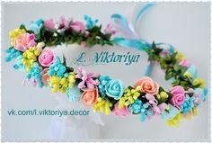 Fancy Jewellery, Trendy Jewelry, Cute Jewelry, Flower Crown Wedding, Wedding Flowers, Flower Crowns, Lilac Wedding Invitations, Flower Crown Hairstyle, Flower Hair Accessories