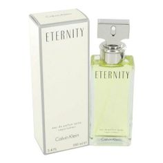 Eternity by Calvin Klein for Women, Eau De Parfum, 3.4 Ounce (088300101405) Packaging for this product may vary from that shown in the image above This item is not for sale in Catalina Island