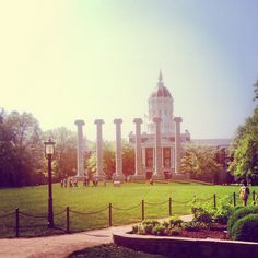 This is one of my favorite places on the planet. There's only one Mizzou.