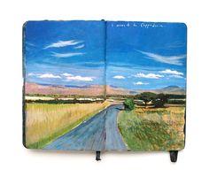 "nevver: "" Book of Paintings, Missy H. Dunaway """