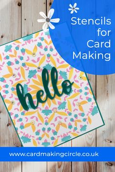 Stencils are easy to use and cheap to purchase. And best of all they make beautiful cards. #cardmakingtools #cardmakingtechniques #cardmaking #inkblending #altenew #cardmakingcircle Stencilling Techniques, Cloud Stencil, Distress Oxide Ink, Mft Stamps, Plastic Sheets, Card Making Techniques, Altenew, Making Tools, Ink Pads