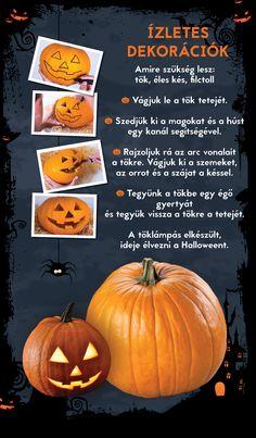Így készül a tökéletes halloweeni tök! :) Pumpkin, Vegetables, Food, Pumpkins, Essen, Vegetable Recipes, Meals, Squash, Yemek