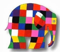 There is something about Elmer the Elephant all kids seem to relate to and love! I find drawing of Elmer strewn all over the art table afte. Paul Klee, Easy Art Lessons, Lessons For Kids, Elephant Cakes, Elephant Art, Elmer The Elephants, Art Quotes Funny, Art Studio Design, Elephant Birthday