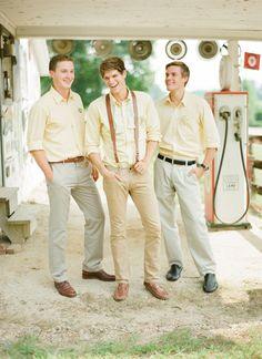 casual groomsmen | KT Merry #wedding