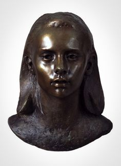 'Talitha'  Life-size bronze.  By Mark Richards FRBS