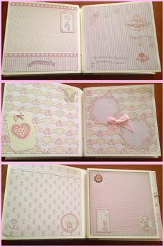 Album scrap bebe niña Mini Album Scrapbook, Baby Girl Scrapbook, Photo Album Scrapbooking, Scrapbook Pages, Mini Photo Albums, Mini Albums Scrap, Kids Cards, Baby Cards, Baby Mini Album