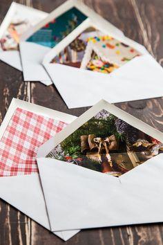 DIY lined envelopes - Jelly Toast