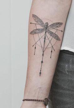 23 ideias de tatuagens geométricas