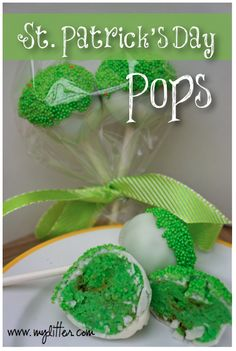 St.Patrick's Day Cake Pops! http://mylitter.com/holiday/st-patricks-day-cake-pops/  Easy and fun idea!