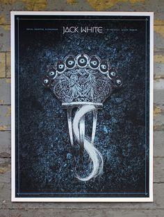 Jack White Alan Hynes Dublin European Posters On Sale