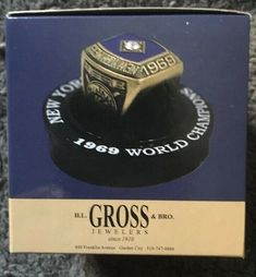 NY METS REPLICA RING SGA 1969 WORLD SERIES CHAMPIONSHIP 50th ANNIVERSARY SEAVER #NewYorkMets Ny Mets, New York Mets, Mlb Games, Gold Gloves, Game Tickets, World Series, 50th Anniversary, Special Events, Rings