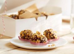 Diamond Toasted Walnut Truffles