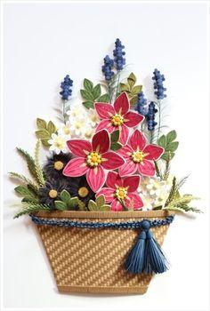 AS 아홉번째 모임엔종이감기 꽃 보다는 커다란 태슬이 달린 바구니가 주인공이랍니다.원래도 태슬을 좋아...