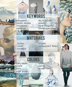 My lifestyle trends AW 2016/17 for Global Color Research: WONDERLAND |