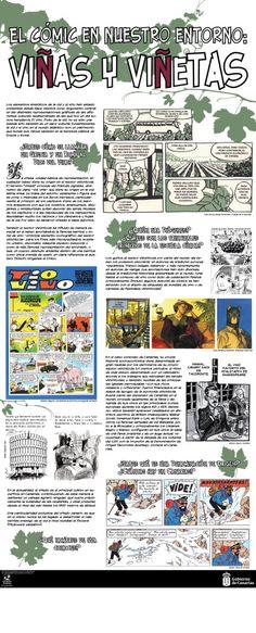 TEBEOS CON CLASE (SECUNDARIA) El cómic en nuestro entorno: Viñas y viñetas