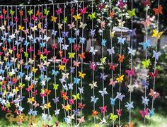 PROMOÇÃO- Cortina de borboletas 35 fios