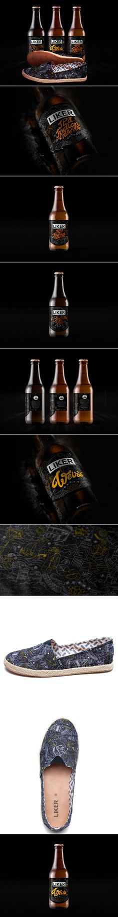 The Illustrated Label of This Beer was Inspired By a Shoe Brand — The Dieline | Packaging & Branding Design & Innovation News
