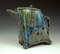 Like the textures and feet.  Robert Lawarre - teapot